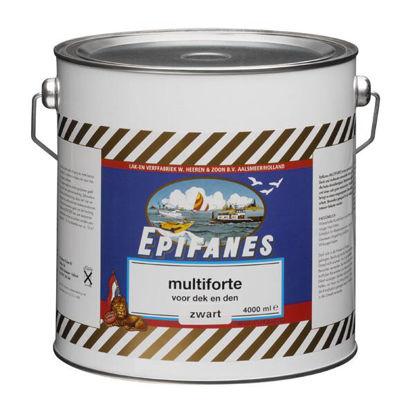 Afbeeldingen van Epifanes Multiforte zwart per 4 liter