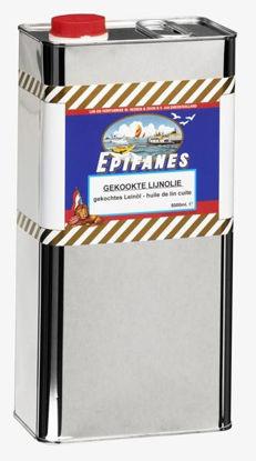 Afbeeldingen van Epifanes gekookte lijnolie per 5 liter
