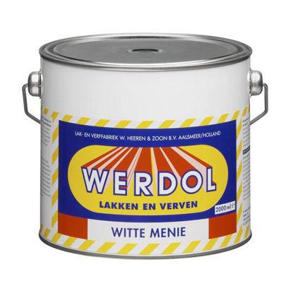 Afbeeldingen van Werdol witte menie per 2 liter