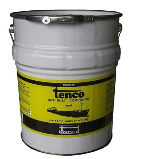 Afbeeldingen van Tenco anti-rust compound vast per 10KG