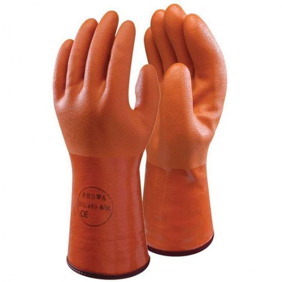 Afbeeldingen van Werkhandschoen SHOWA ISO-COLD, rubber, vacht gevoerd, per paar