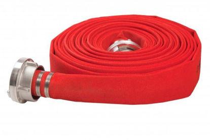 Afbeeldingen van brandslang rood 2'' 20 meter