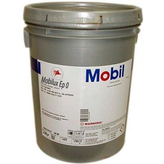 Afbeeldingen van Mobil Mobilux EP 0 per 18 kg