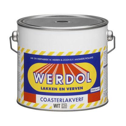 Afbeeldingen van Werdol coasterlakverf nr. 40 per 2 liter