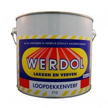 Afbeeldingen van Werdol loopdekkenverf nr. 213 per 2 liter